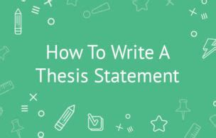 Abstract of thesis statement